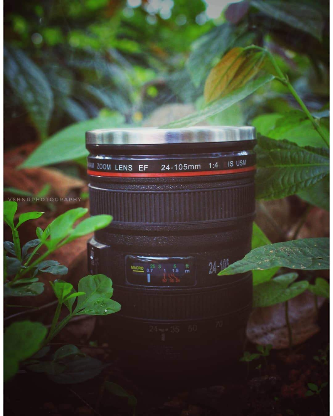 New Arrival! Camera Lens Coffee Mug, Stainless Steel Thermos, Sealed & Retractable Lids!