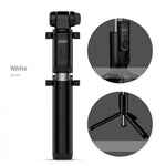 360 Degrees RC Smart Rotation Extendable Selfie Stick Wireless Bluetooth