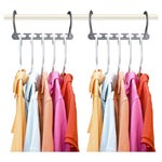 Multi-functional magic clothes plastic wonder hangers onder hanger