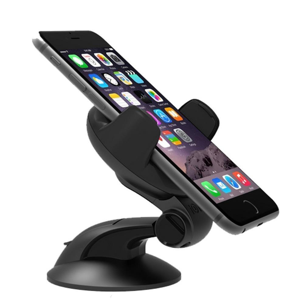 Teammao Universal Car Mount Holder Cell Phone Holder on Dashboard & Windshield iPhone 7s 6s 7Plus 6Plus Samsung Galaxy S8 Edge S7 S6 and other Smartphones.
