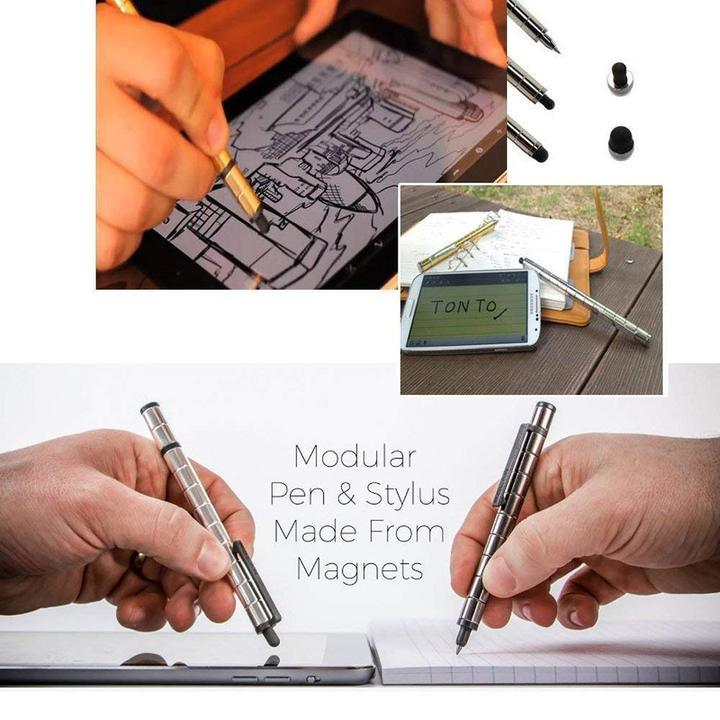 Touchable Magnetic Pen Metal Neutral Creative Fun Gift Pen