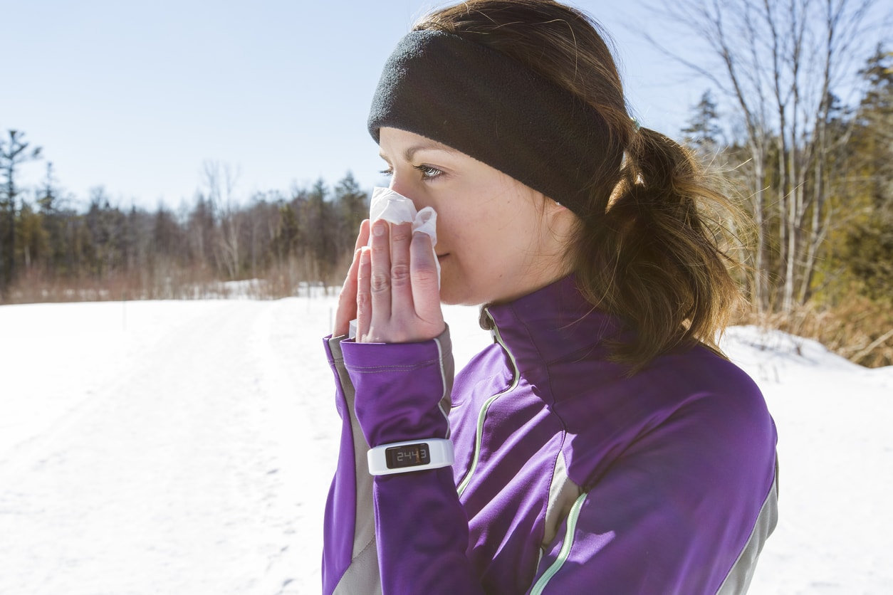 exercising with a cold