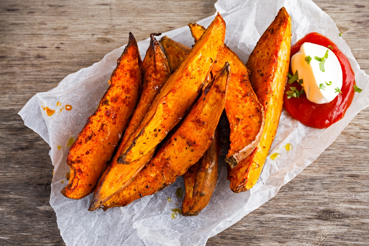 how to cook sweet potato in oven healthy