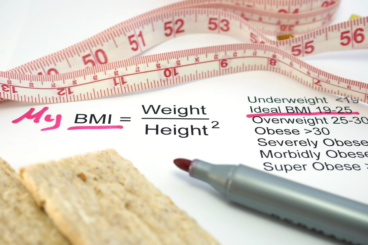 ideal weight for height