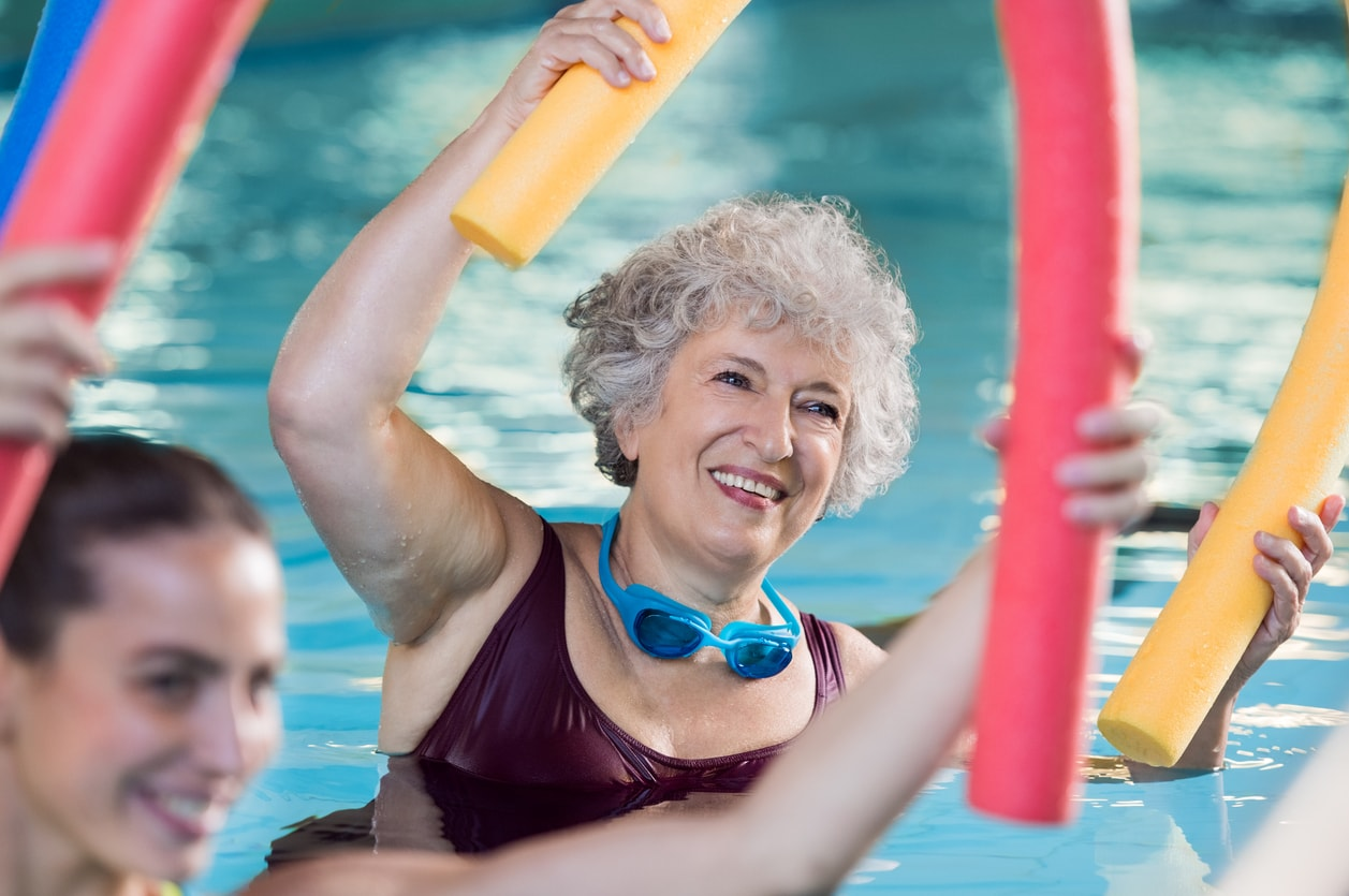 keep fit exercises for over 60s