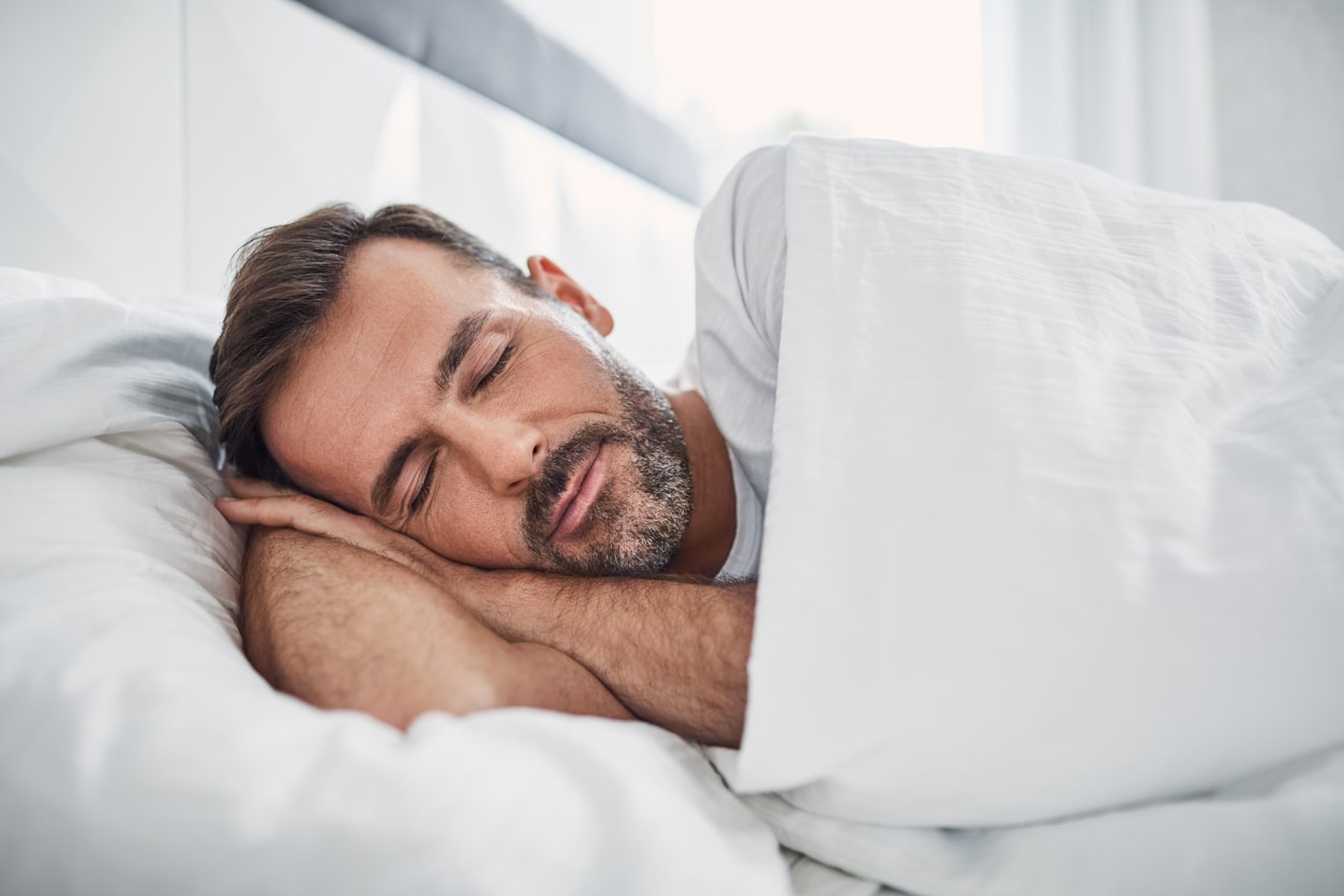 why do you lose weight while sleeping