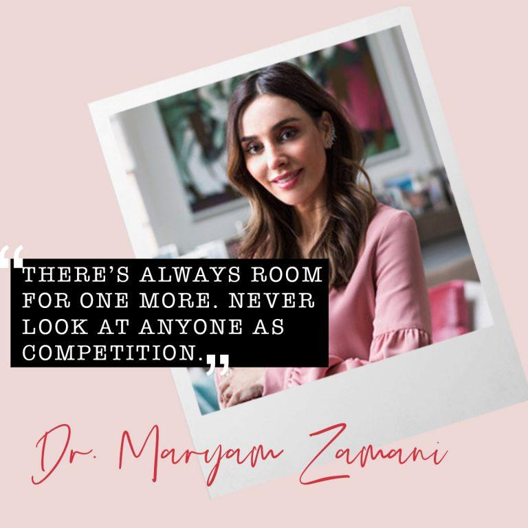 Women Who Inspire: Dr. Maryam Zamani