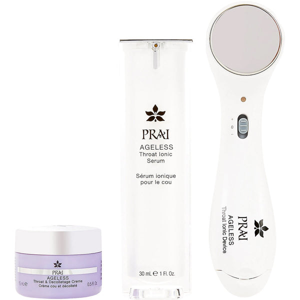 Image of PRAI Beauty Ageless Throat Ionic System & Serum