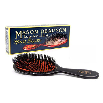 Image: Mason Pearson Sensitive Ruby Pocket Hairbrush