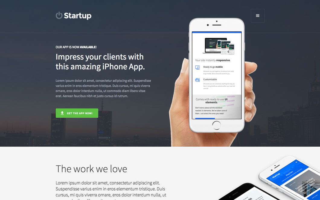 Start-Up Website Package