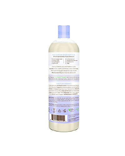 Lavender Meadowsweet Calming Baby Bubble Bath & Wash (15 oz.)