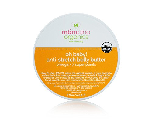 Anti-Stretch Belly Butter - Omega + 7 Super Plants (2.5 oz.)