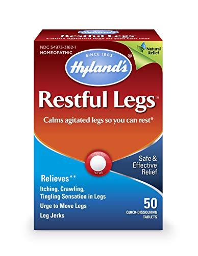 Restful Legs Tablets - Natural Itching, Crawling, Tingling and Leg Jerk Relief