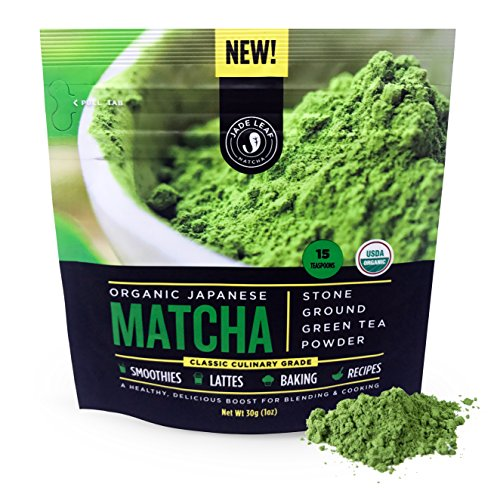 Matcha Green Tea Powder - USDA Organic, Authentic Japanese Origin (30 g)