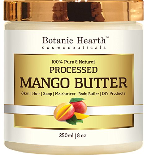 Mango Butter - Pure & Natural, Processed Premium Grade A (8 oz.)