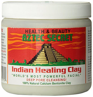 The Original 100% Natural Calcium Bentonite Clay - Deep Pore Cleansing Facial & Healing Body Mask