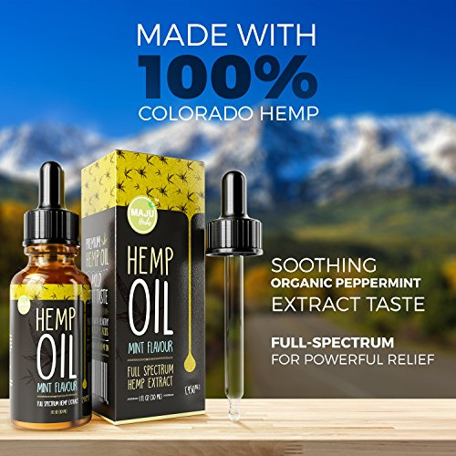 100% Pure Hemp Oil Extract (450 mg.)