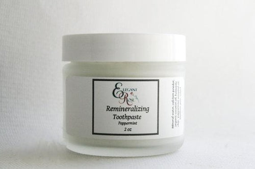 Natural Remineralizing Toothpaste, Flouride Free