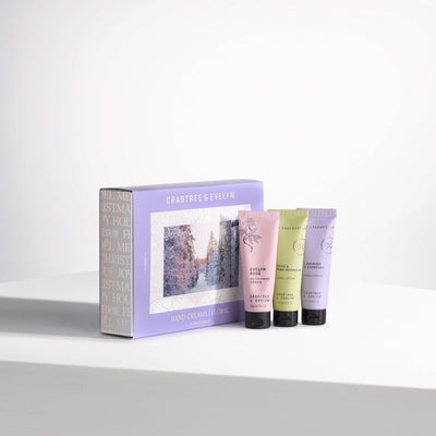 Floral Hand Creams Gift Set