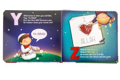 The ABC of Allah Loves Me - Crescent Moon Store