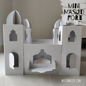 Mini Masjid Fort-Home Decor-My 1st Masjid-Crescent Moon Store