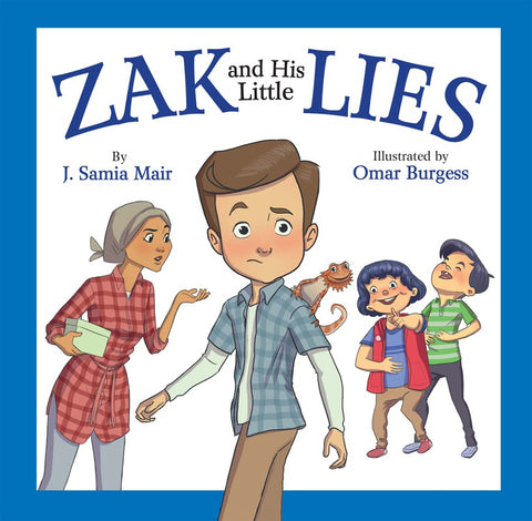 Zak and His Little Lies-Islamic Books-The Islamic Foundation-Crescent Moon Store