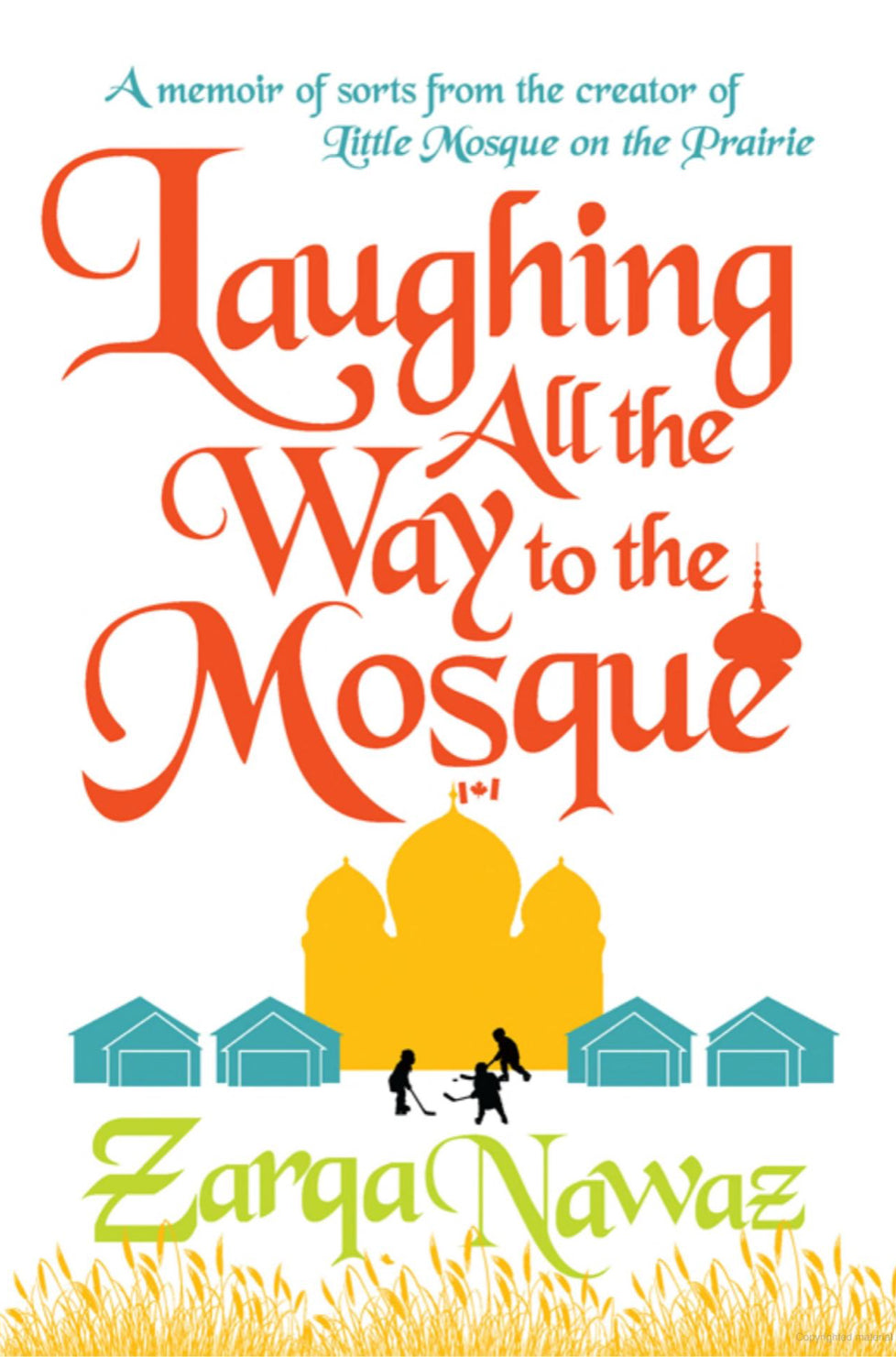 Laughing All the Way to the Mosque-Adult Book-Harper-Crescent Moon Store