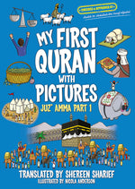 Load image into Gallery viewer, My First Quran with Pictures Juz Amma Part One-Islamic Books-Faith Books-Original - Full Color-Crescent Moon Store