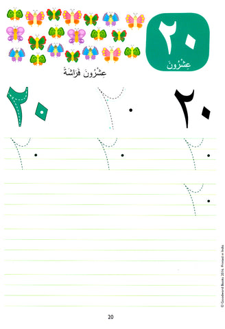 Wipe-clean Arabic Numbers – Crescent Moon Store