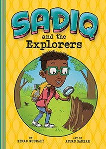 Sadiq and the Explorers-Islamic Books-Picture Window Books-Crescent Moon Store
