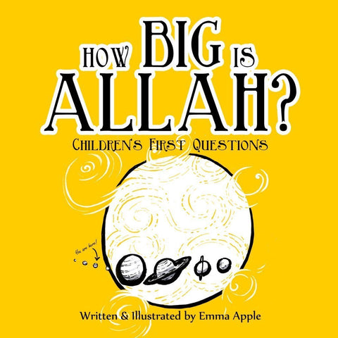 How Big Is Allah?-Islamic Books-Little Moon Books-Crescent Moon Store