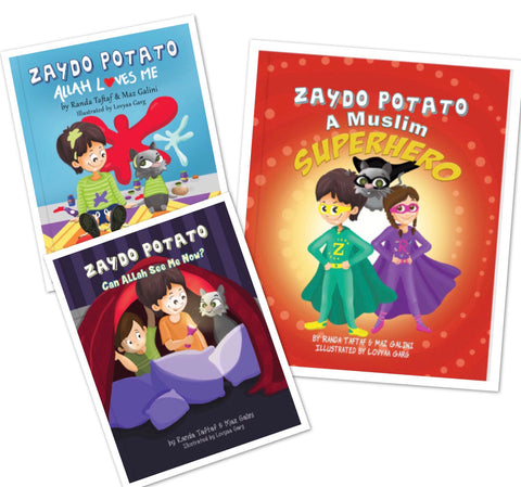 Zaydo Potato: 3 Book Special Bundle-Islamic Books-Rummana Publishing-Paperback-Crescent Moon Store