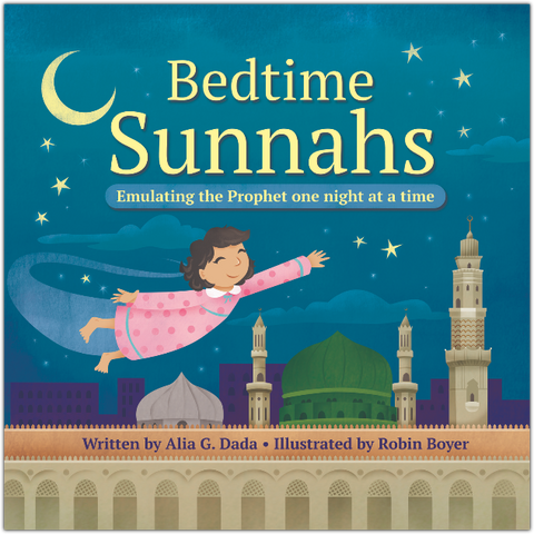 Bedtime Sunnahs-Islamic Books-Prolance-Crescent Moon Store