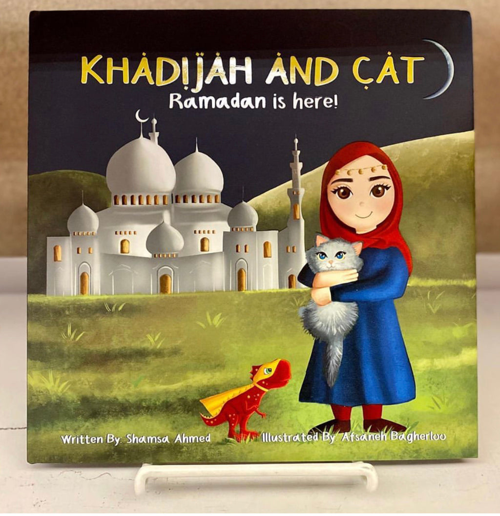 Khadijah and Cat: Ramadan Is Here!-Islamic Books-Crescent Moon Store-Crescent Moon Store