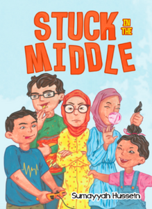 Stuck in the Middle-Islamic Books-Ruqaya's Bookshelf-Crescent Moon Store
