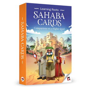 Sahaba Cards-Islamic Books-Learning Roots-Crescent Moon Store