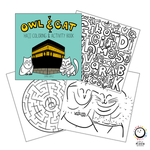 Owl & Cat: Go To Hajj