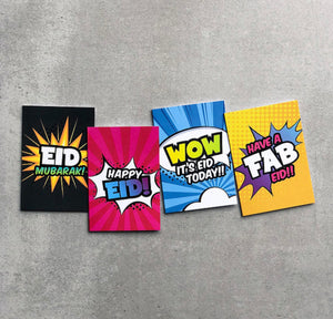 Eid Cards Multipack + Gift Tags | Super Muslims