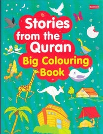Stories from the Quran BIG Coloring Book-Islamic Books-Goodword-Crescent Moon Store