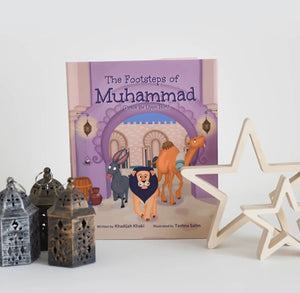 Footsteps of Muhammad-Islamic Books-Lunar Learners-Crescent Moon Store