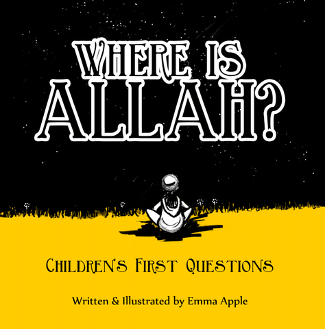 Where Is Allah?-Islamic Books-Little Moon Books-Crescent Moon Store