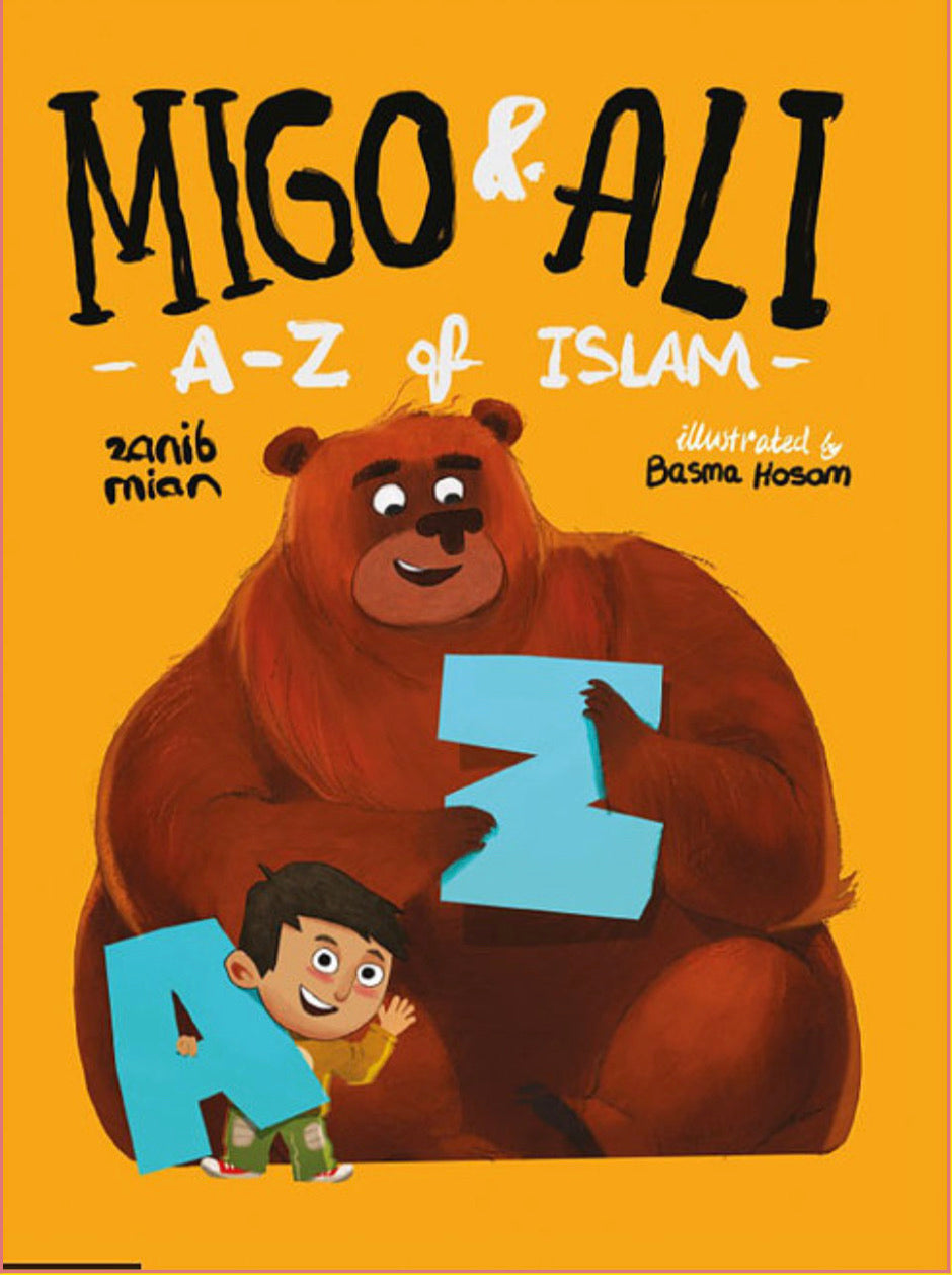 Migo & Ali: A-Z of Islam-Islamic Books-Muslim Children's Books UK-Crescent Moon Store