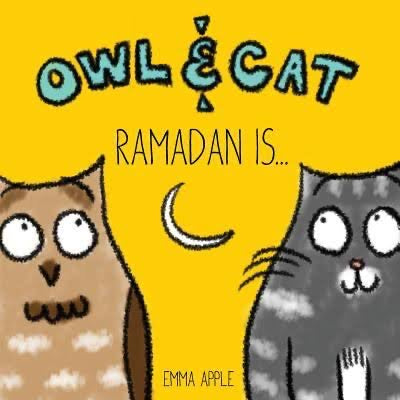 Owl & Cat: Ramadan Is…-Islamic Books-Little Moon Books-Coloring & Activity Book-Crescent Moon Store