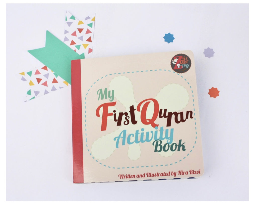 My First Quran Activity Book-Islamic Books-Zair Zabr Play-Crescent Moon Store