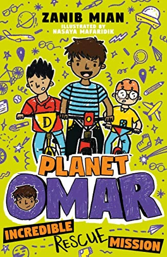 Planet Omar 3: Incredible Rescue Mission-Islamic Books-Hodder Children's Books-Crescent Moon Store