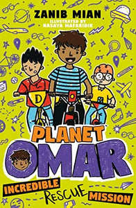 Planet Omar 3: Incredible Rescue Mission-Islamic Books-Muslim Children's Books UK-Crescent Moon Store