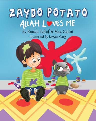 Zaydo Potato: Allah Loves Me-Islamic Books-Rummana Publishing-Paperback-Crescent Moon Store