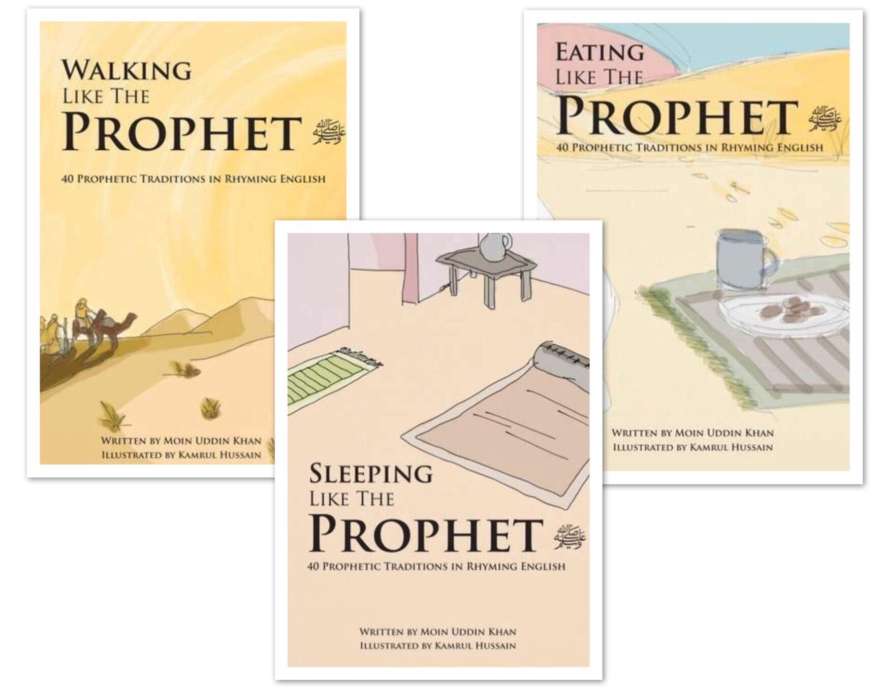 Like the Prophet: 40 Prophetic Traditions in Poetic English (Series of 3)-Islamic Books-Al Rawda Press-Crescent Moon Store