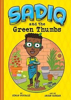 Sadiq and the Green Thumbs-Islamic Books-Picture Window Books-Crescent Moon Store
