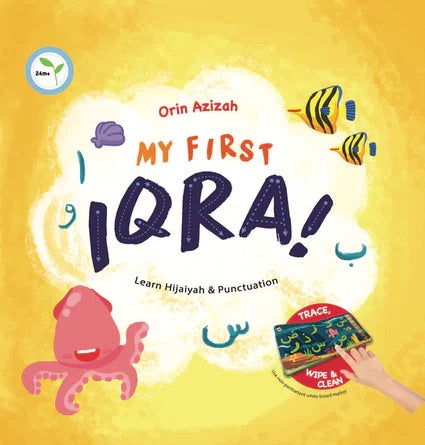 My First Iqra-Arabic Books-Kube Publishing-Crescent Moon Store